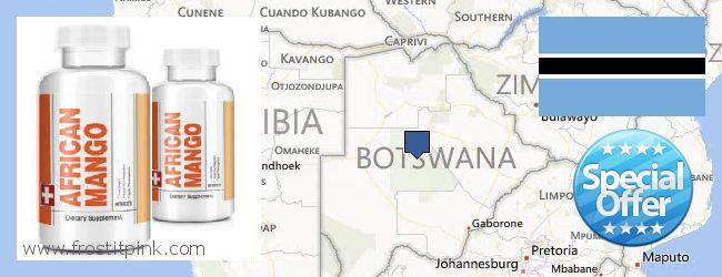 Buy African Mango Extract Pills online Botswana
