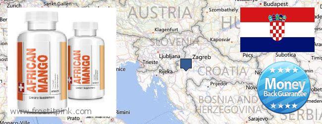 Purchase African Mango Extract Pills online Croatia