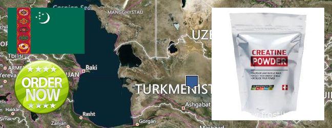 Where to Buy Creatine Monohydrate Powder online Turkmenistan