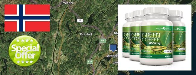 Hvor kjøpe Green Coffee Bean Extract online Arendal, Norway