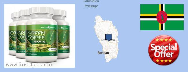 Πού να αγοράσετε Green Coffee Bean Extract σε απευθείας σύνδεση Dominica