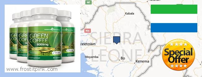 Where to Purchase Green Coffee Bean Extract online Sierra Leone