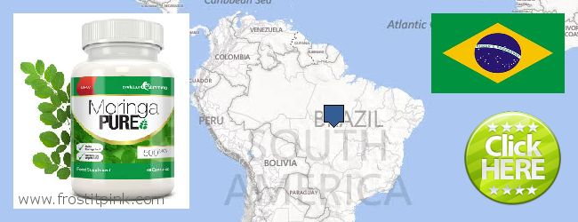 Buy Moringa Capsules online Brazil