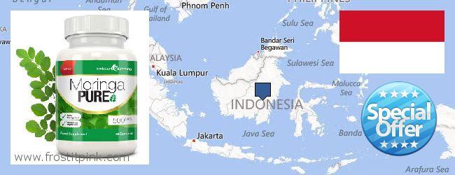 Buy Moringa Capsules online Indonesia