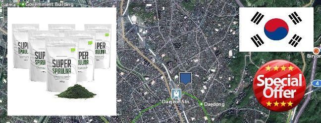 Buy Spirulina Powder online Daejeon, South Korea
