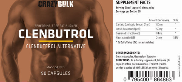 Buy Clenbuterol Steroids in Tokelau